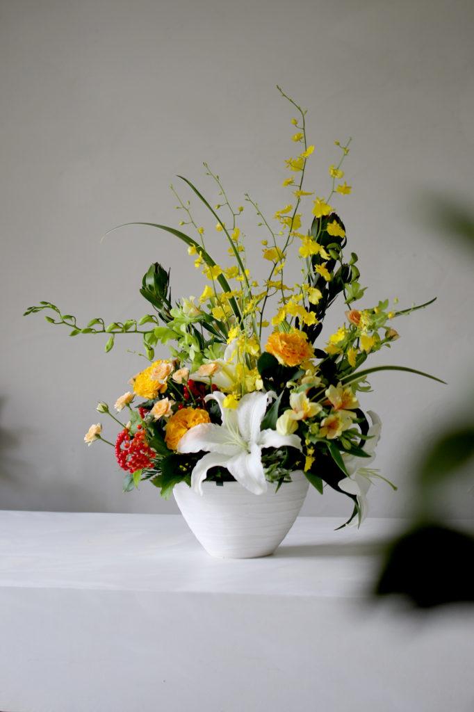 長寿祝いの花